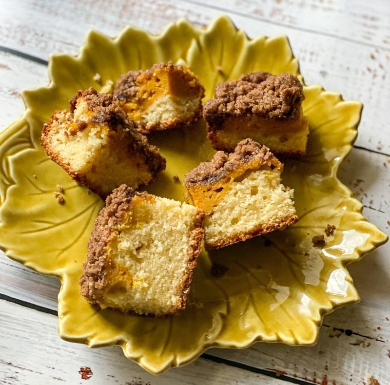 Pumpkin Spice Coffee Cake
