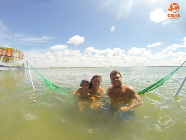 Ilha dos Namorados e Croa do Goré Aracaju Crisstilben Cris Pelo Mundo