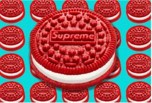 Calvin Klein,Supreme,Oreo,печенье