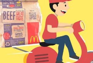 Макдоналдс,«Яндекс.Еда»,«Delivery Club»,«Двойной Биг Тейсти»