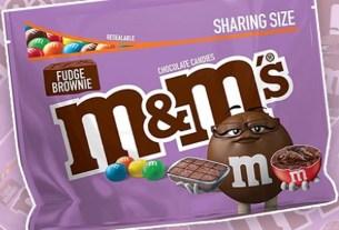 M&M's, упаковка,Fudge Brownie