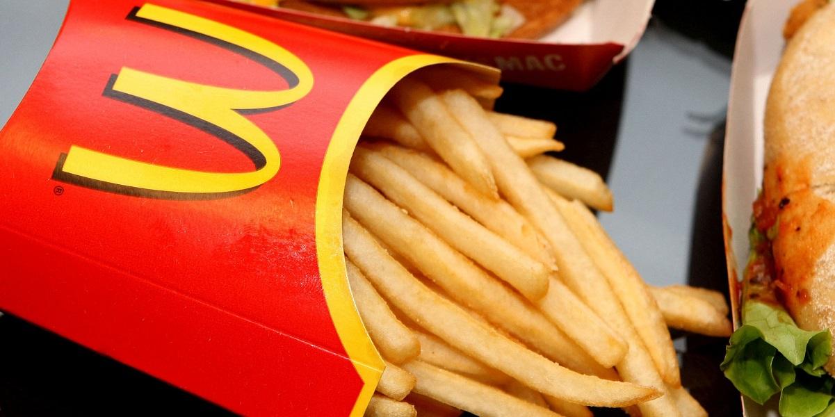McDonald's,Белая дача,картфель фри,Семенов
