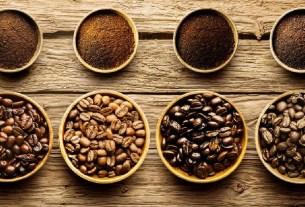 Кофе, зёрна, арабика, робуста