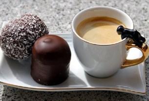 крфе, шоколад, вкусовые сочетания