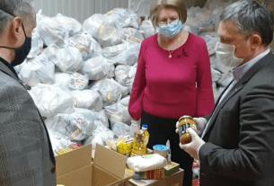 Ставрополье, органы власти, продуктовые наборы