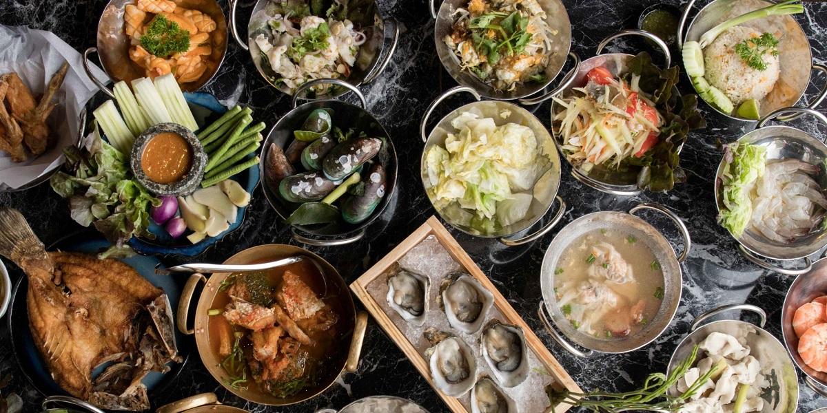 уголовный срок, ресторан, Laemgate Seafood Restaurant , шведский стол