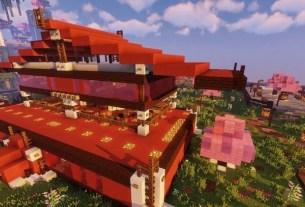 «Тануки», ресторан в игре, Minecraft