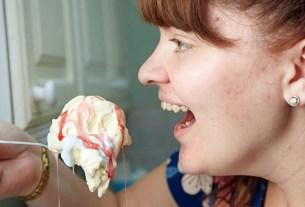 Кортни Бакстер, мороженое, айс-крим, боязнь твердой пищи