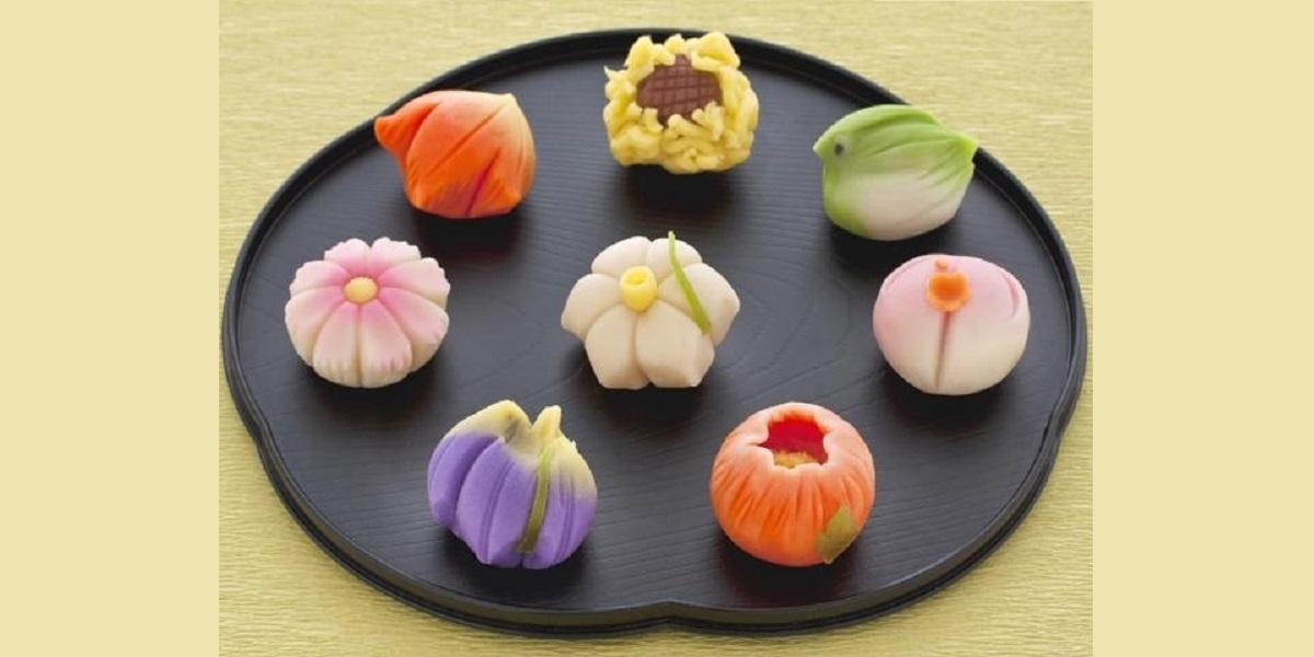 вагаси, десерт, вкус каштана, Япония