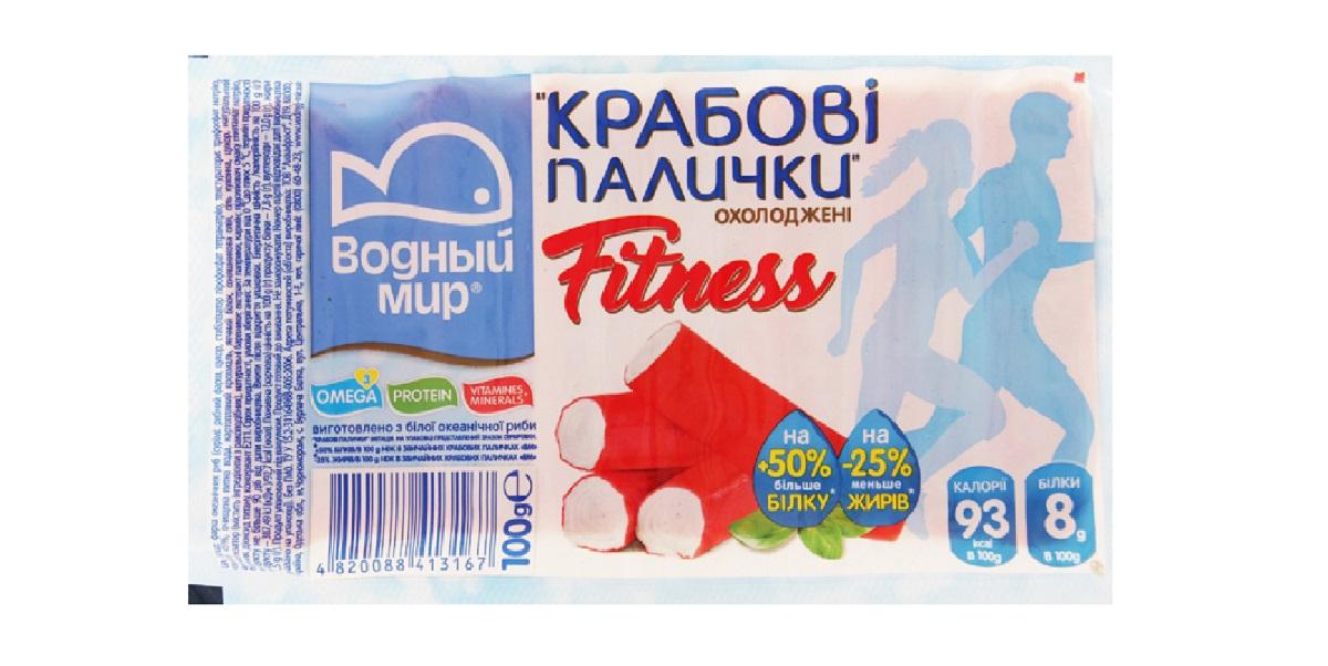 «Аквафрост», «Водный мир», крабовые палочки,Украина