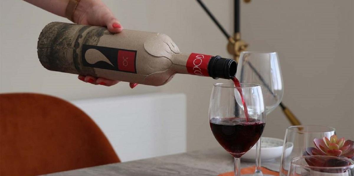 Frugalpac, вино, бумажная бутылка, Великобритания, Cantina Goccia,