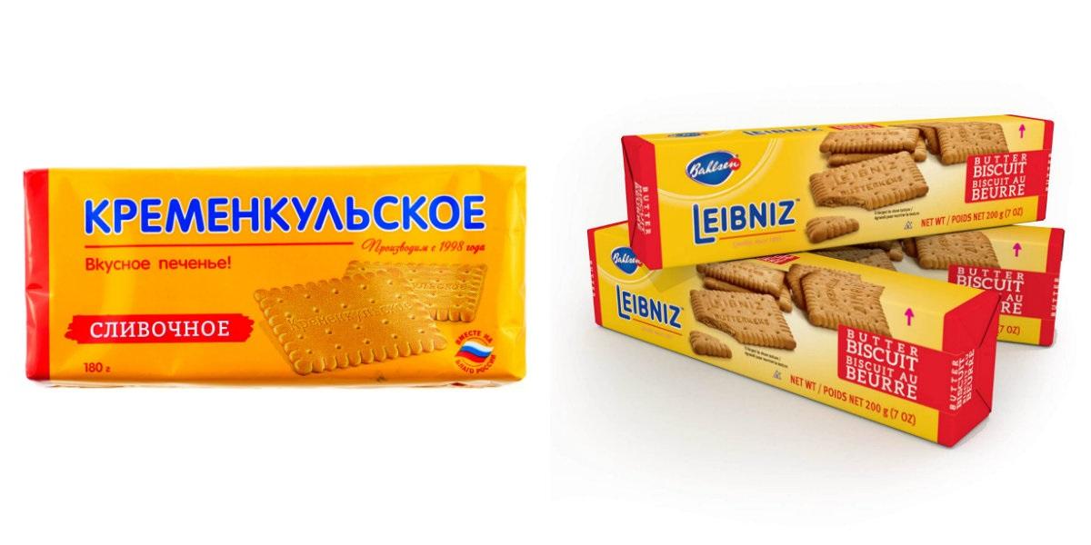 «Leibniz», «Кременкульское», плагиат, печенье, Челябинск