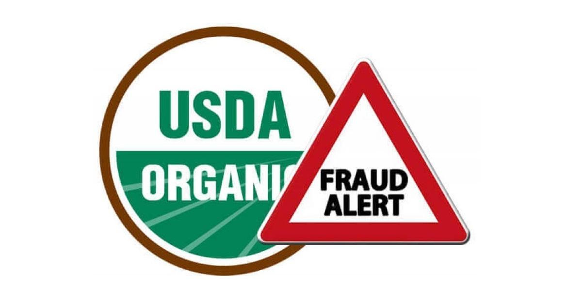 США, органика, фальсификат