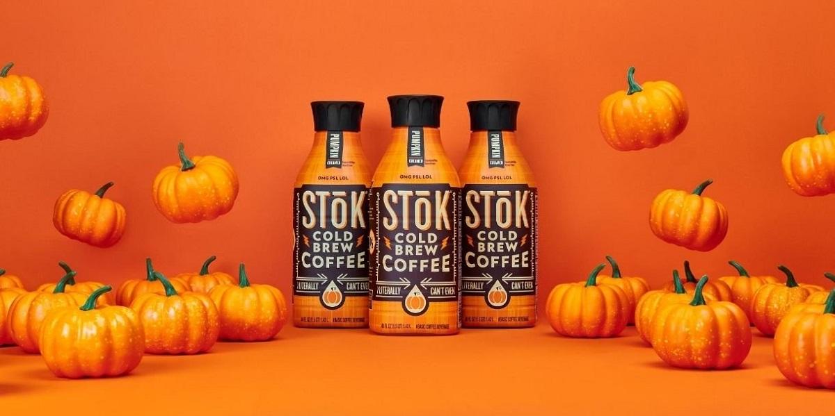 США, кофе со вкусом тыквы, Stōk Pumpkin Cold Brew