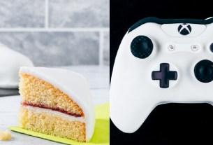Xbox, торт, джойстик