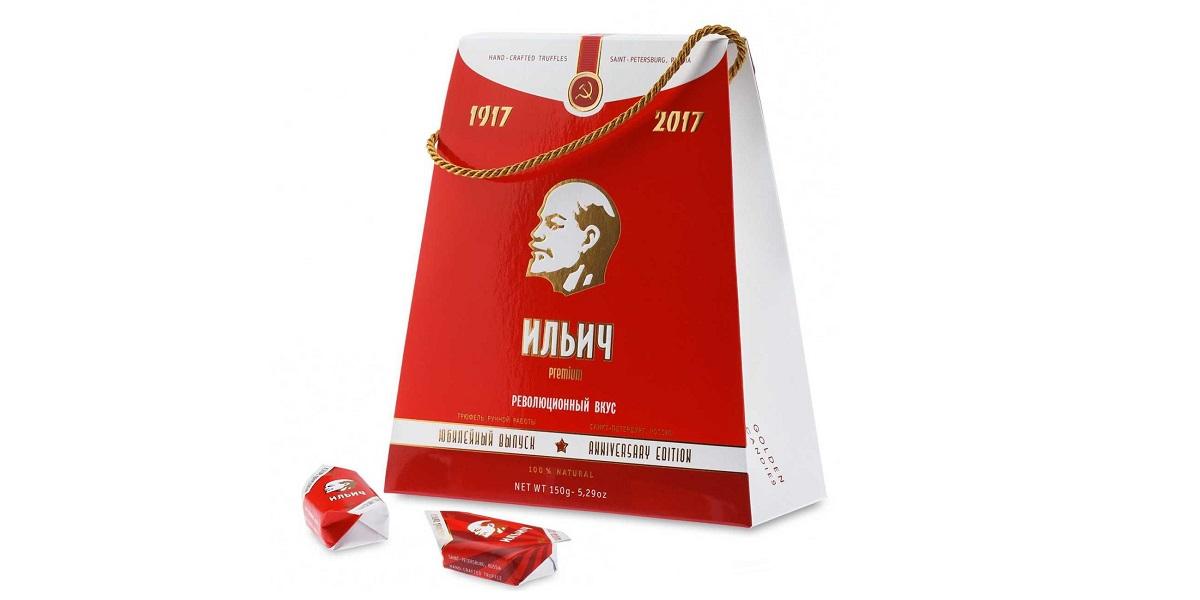 Владимир Жириновский, конфеты «Ильич. Революционный вкус»