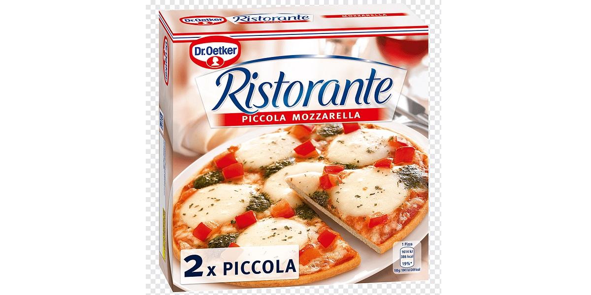Ristorante Mozzarella, пицца, Dr. Oetker , заморозка