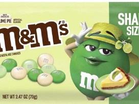 M&M's, лайм, Зелёная