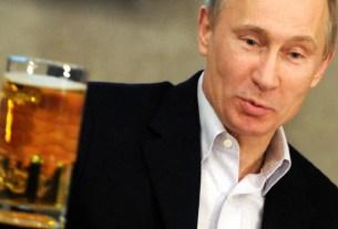 Путин, пиво, отказ от пива, здоровье,