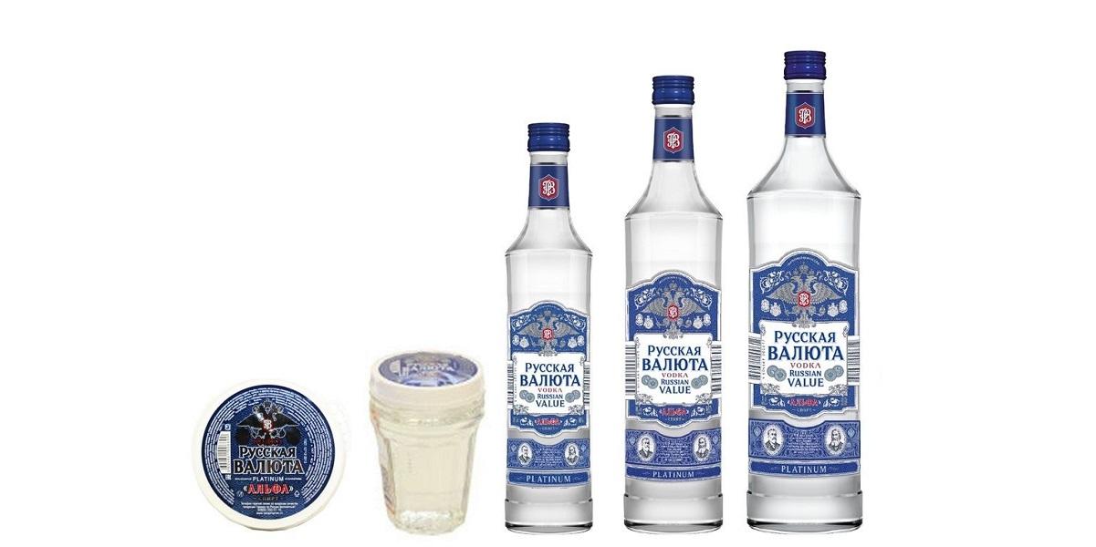 «Лучшая водка 2020 / Best Vodka», «Русская валюта Platinum»