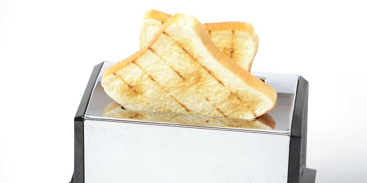 Хлеб из тостера, хлеб, тостер