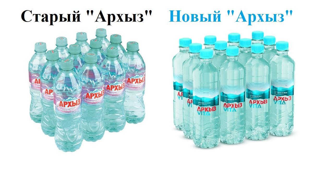 «Архыз Vita», минералка, «ТД «Дельта», вода минеральная, ребрендинг