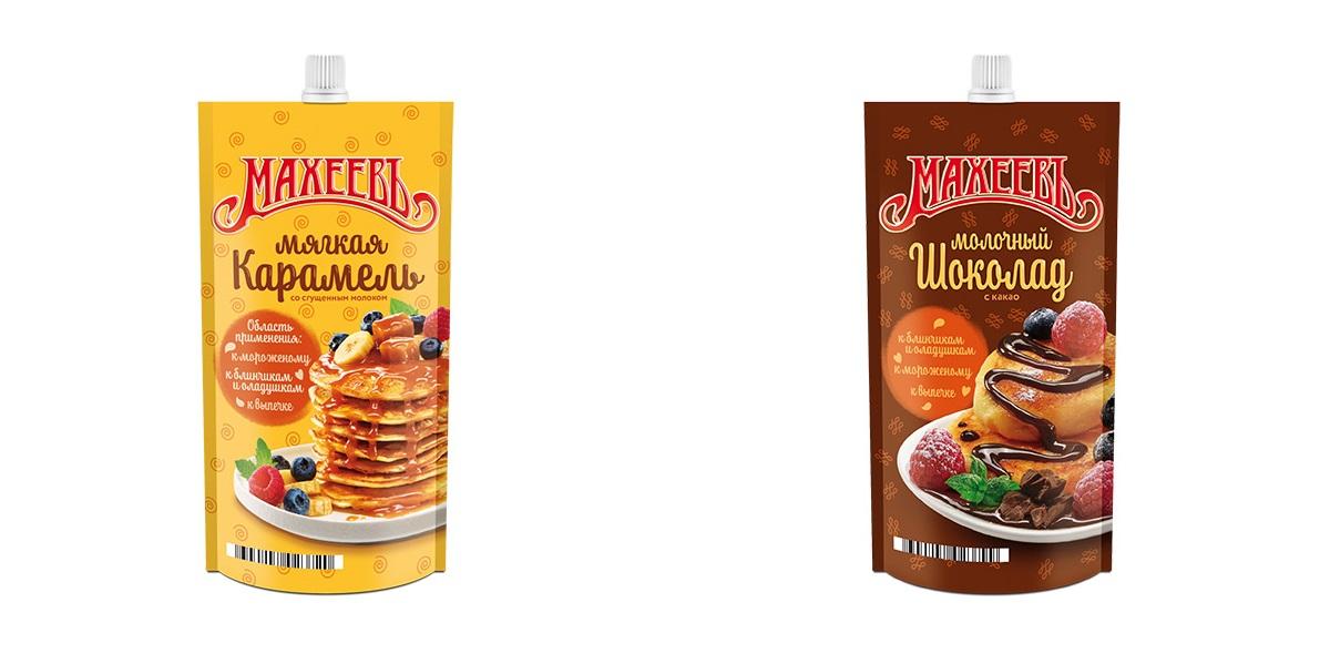 Топпинг «Мягкая карамель», «Эссен Продакшн АГ»(ТМ «Махеевъ»),Топпинг «Молочный с какао»