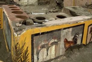Помпеи, античный фастфуд, еда под пеплом, термополия