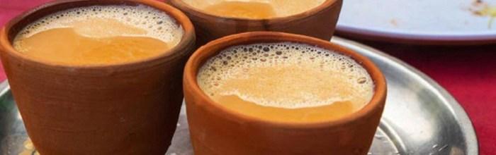 Индия, поезда, чай, глиняные чашки, кулхады,