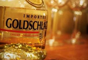Алкоголь,, золотой шнапс