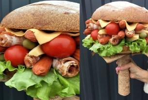 Букет-бургер, доставка