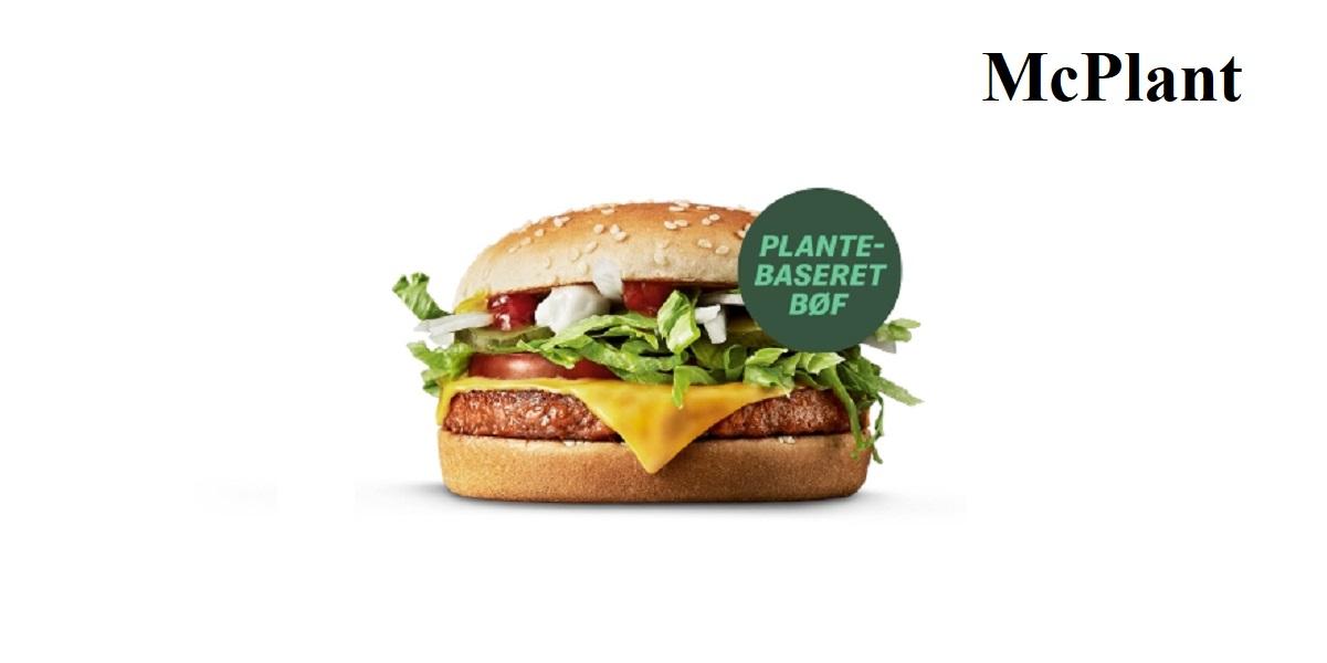 McDonald's в Дании, McPlant, бургер с немясом