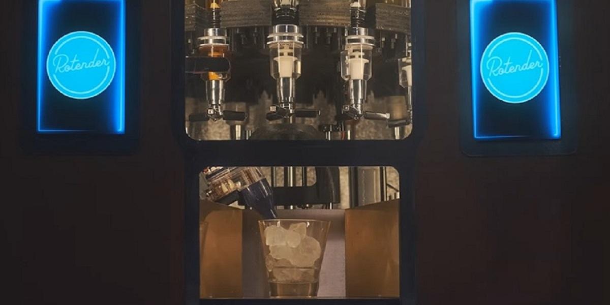 Rotender, вендинг автомат, алковендинг, робобармен, США
