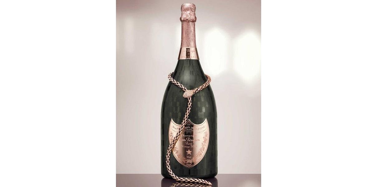 Bulgari, Италия, розовое шампанское, ожерелье, лимитированная версия, Dom Pérignon