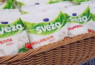 «Савушкин продукт», Моцарелла SVEŽA, Белоруссия
