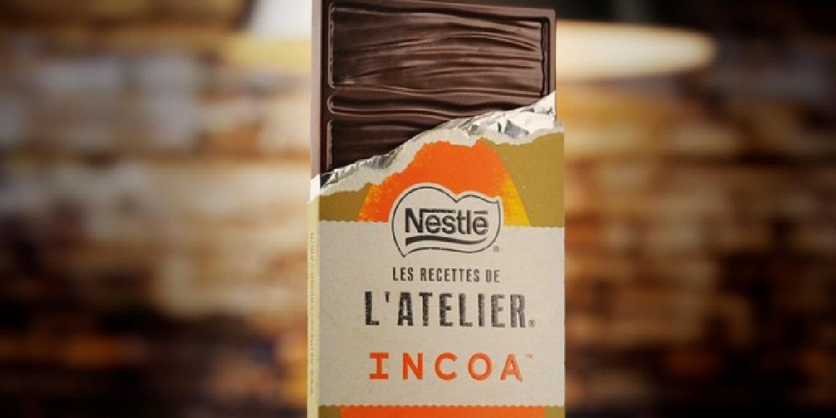 Incoa, шоколад, Nestle