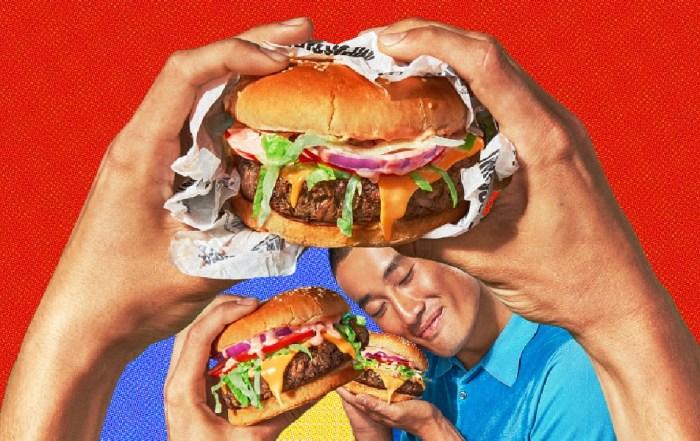 Бургеры, вегетарианцы