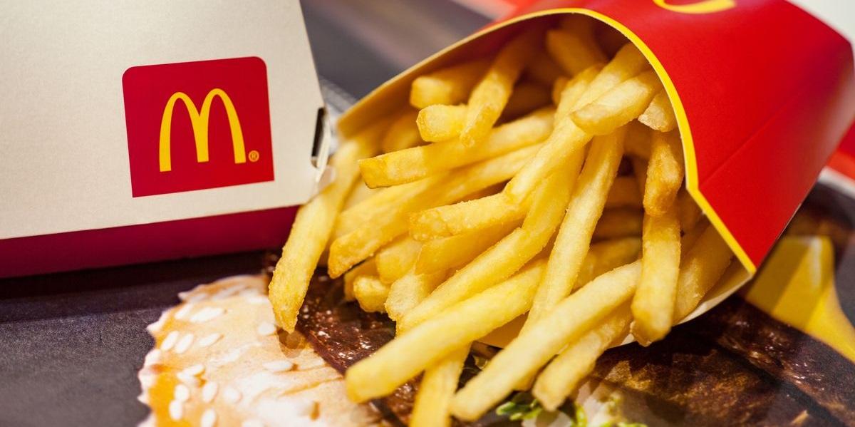 «Макдоналдс», картофель фри, свежий картофель фри