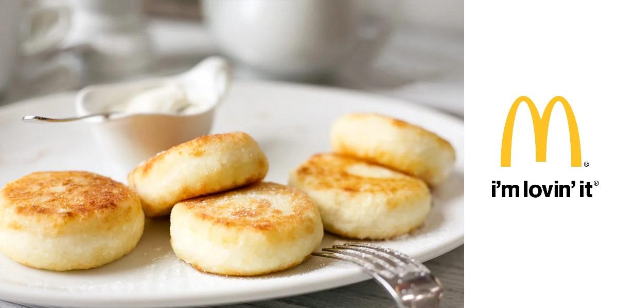 «МакКафе», творожные сырники, новые в меню, «Макдоналдс»