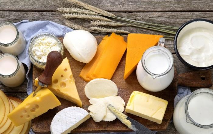 Молоко, масло, сыр