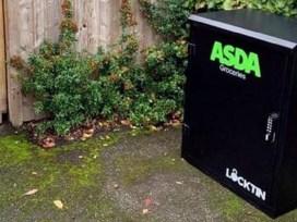 Asda, Великобритания, доставка продуктов, контейнеры для хранения