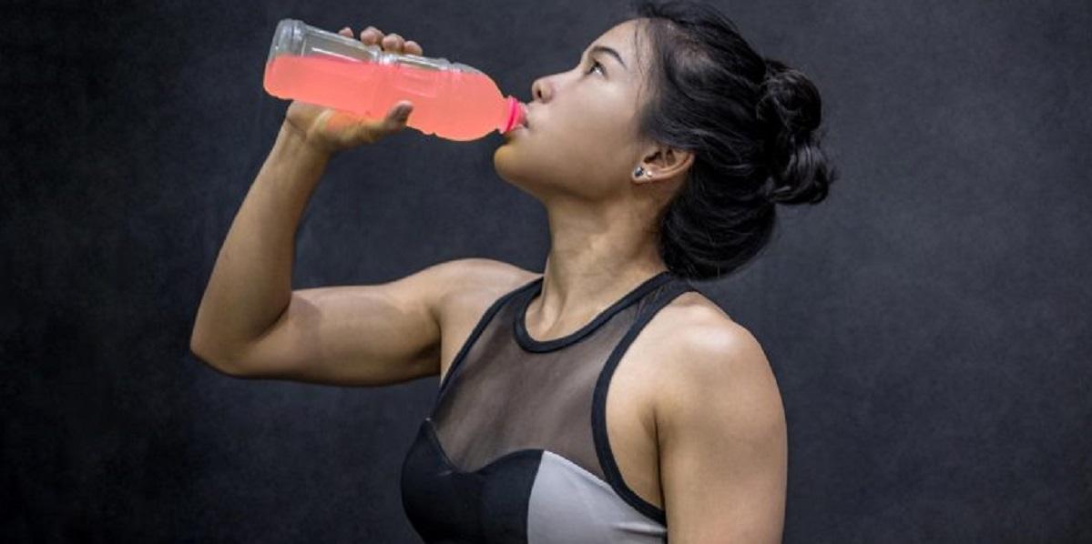 Исследование, напитки розового цвета, бегуны, способность бегать, розовый краситель