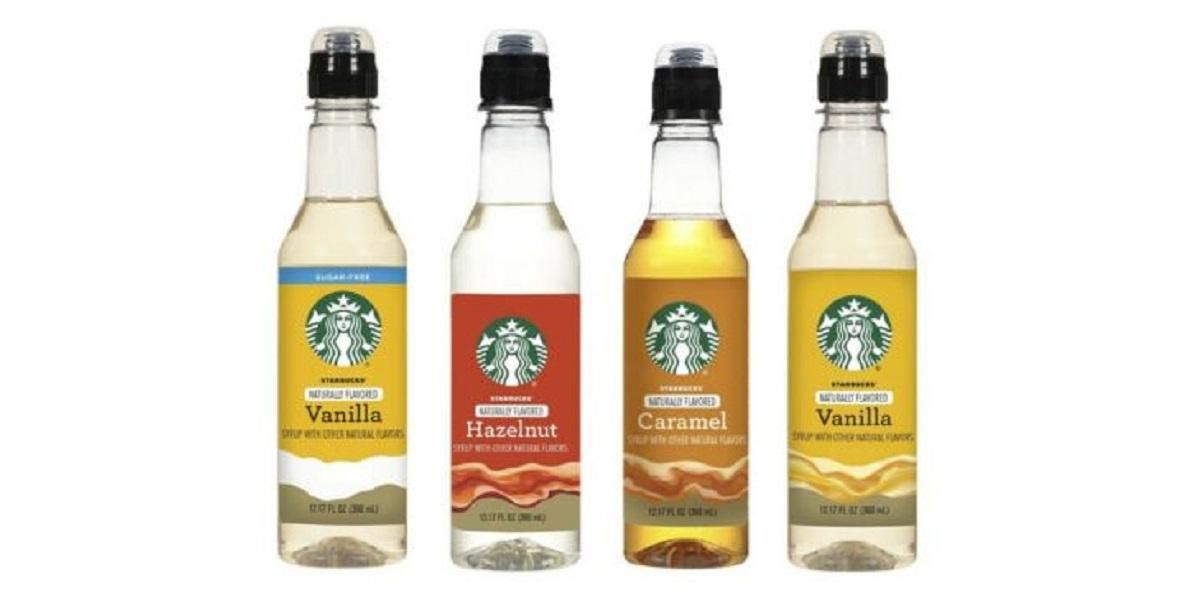 Starbucks, США, стаканчик с сиропом, сиропы Starbucks
