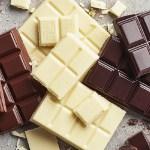 Шоколад, белый, тёмный, молочный