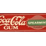 Coca-Cola Gum, жевательная резинка, жвачка Coca-Cola Gum