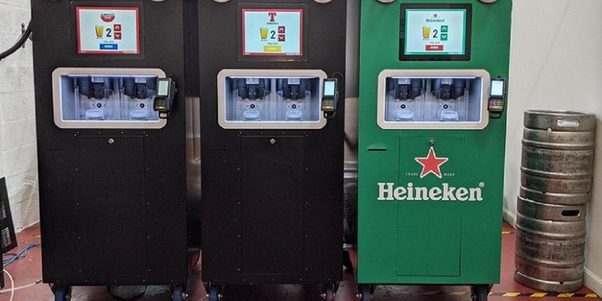 пивные автоматы, EBar, розлив пива