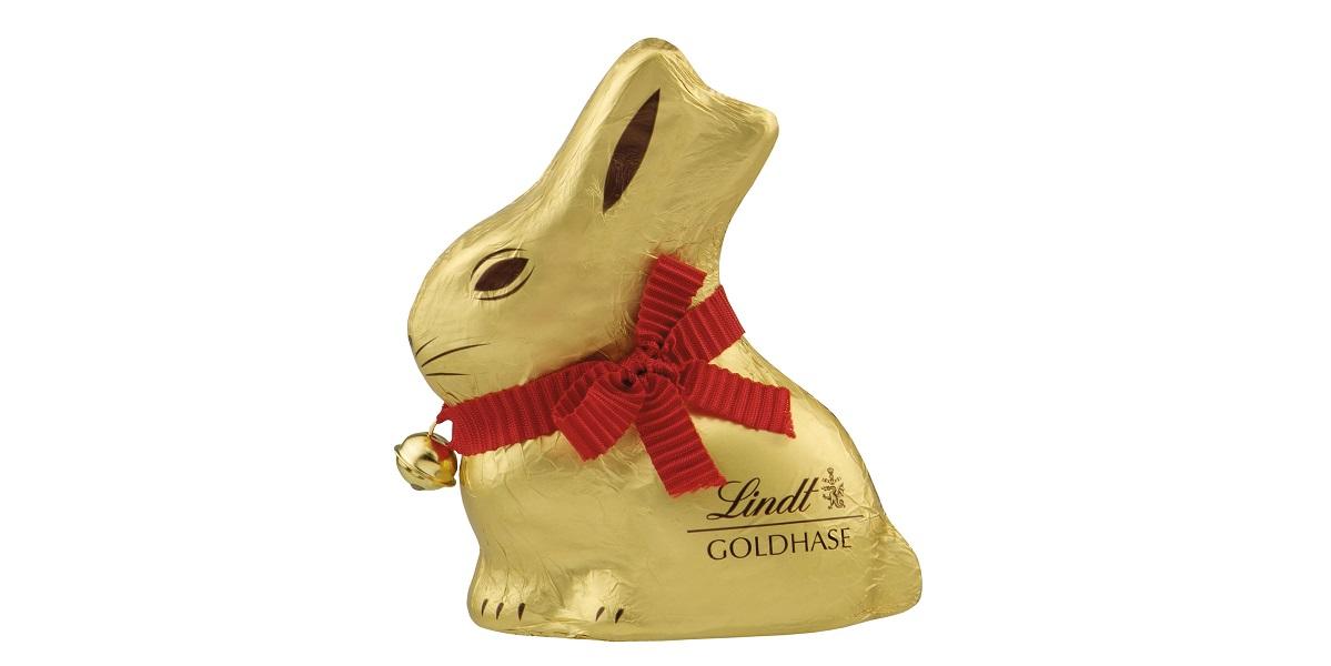 Lindt & Spruengli, шоколад Lindt, кролик Lindt, шоколадный кролик