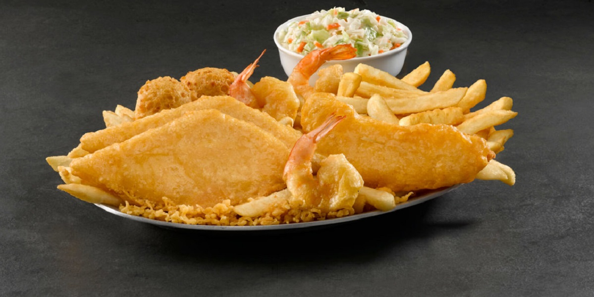 Растительные морепродукты, США, общепит, Long John Silver's, Good Catch,