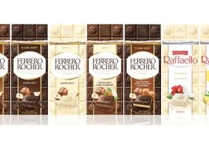 Ferrero Rocher, Raffaello, шоколад Ferrero Rocher, 7 видов