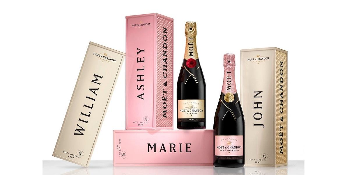 право на шампанское, шампанское Моет, маркировка шампанского
